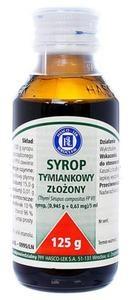 Sirupus Thymi compositum, syrop, 125 g (Hasco)