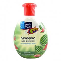 Skarb Matki, Mydełko pod prysznic dla niemowląt i dzieci, zapach soczystego arbuza, 300 ml