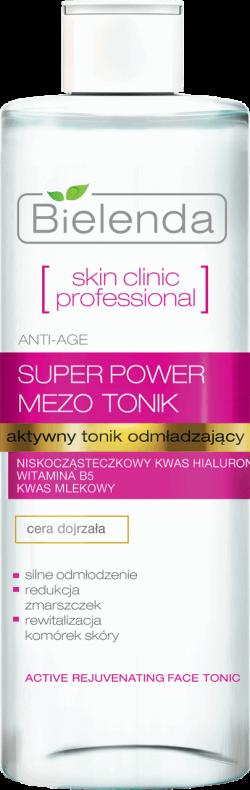 SKIN CLINIC PROFESSIONAL Aktywny tonik odmładzający ANTI-AGE