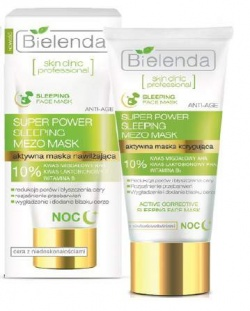 Bielenda Skin Clinic Professional, Maska korygująca na noc, 50ml
