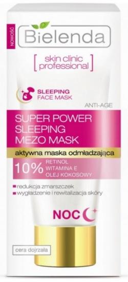 SKIN CLINIC PROFESSIONAL Aktywna maska odmładzająca ANTI-AGE na noc