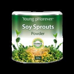 Soy Sprouts - sproszkowane kiełki soi, 220g
