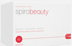 Spirobeauty odżywiona skóra, włosy i paznokcie, 60 kapsułek