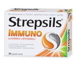 Strepsils Immuno na gardło z Witaminą C