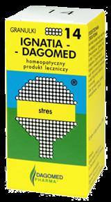 IGNATIA DAGOMED 14 Stres, 7 g (ok 175 granulek)