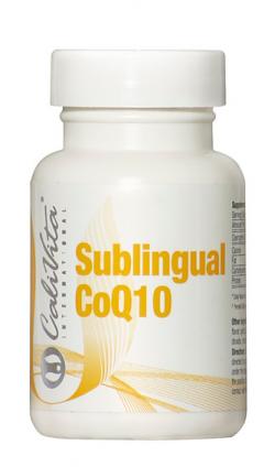 Sublingual CoQ10, CaliVita, 30 tabletek