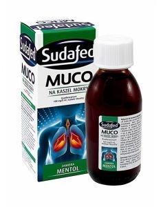 Sudafed Muco Mentol, syrop, 150 ml