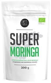 Super Moringa (Sproszkowane Liście) 200g - DIET-FOOD - EKO