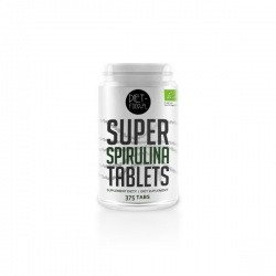 DIET FOOD  Super Spirulina Tablets, 375 tabletek