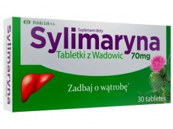 Sylimaryna Tabletki z Wadowic - 30 tabletek