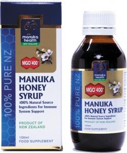 Syrop ziołowo-propolisowy z Miodem Manuka MGO™ 400+ 100 ml