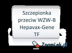 Szczepionka przeciw WZW-B Hepavax-Gene TF