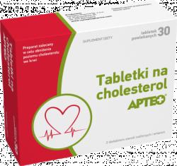 TABLETKI NA CHOLESTEROL Apteo