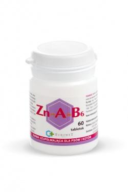 Tabletki na sierść Zn-A-B6, 60 tabletek