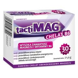 TactiMag Chelat B6, tabletki, 30 szt