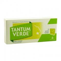 Tantum Lemon, 3 mg, pastylki twarde, 20 szt