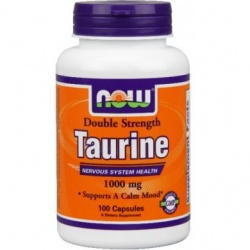 NOW - Taurine 1000 mg - 100 kaps