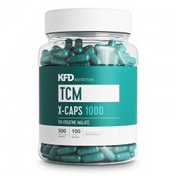 KFD TCM X-CAPS 1000 - 500 kapsułek (jabłczan kreatyny)
