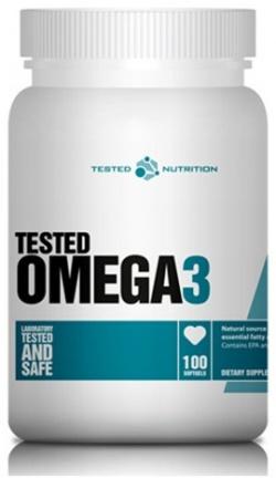 TESTED NUTRITION - TESTED Omega 3 - 100kaps