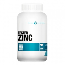 TESTED NUTRITION - Tested Zinc - 250tab