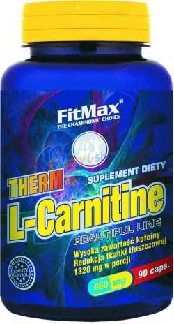 FITMAX - Therm L-Carnitine - 90kaps