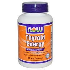 NOW - Thyroid Energy - 90 kaps