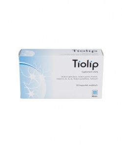 Tiolip, EmergoPharm, 30 kapsułek