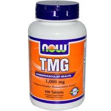TMG Now Foods 1000mg, 100 tabletek