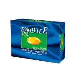 Tokovit E 100 Natural, 60 kapsułek