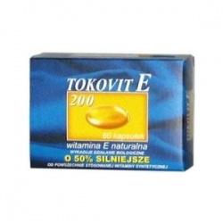 Tokovit E 200, kapsułki elastyczne, 200 j