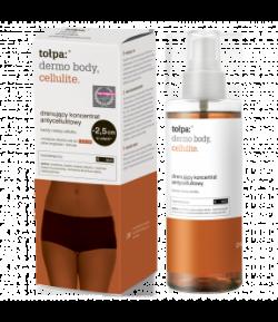 Tołpa Dermo, Body Cellulite, drenujący koncentrat antycellulitowy, na noc, 200 ml