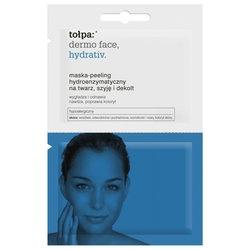 Tołpa Dermo Face Hydrativ, maska-peeling hydroenzymatyczny na twarz, szyję i dekolt, 2 x 6 ml