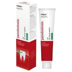 Tołpa Expert, Parodontosis, żel do mycia zębów bez fluoru, 75 ml