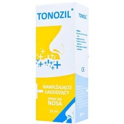 Tonozil, spray do nawilżania nosa, 20 ml