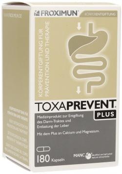 Toxaprevent Plus, kapsułki, 180 sztuk