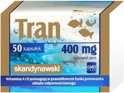 Donum Naturea tran skandynawski 400mg 50 kapsułek