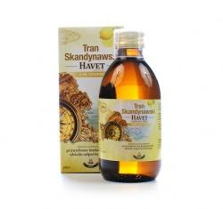 Tran Skandynawski Havet, 250 ml, smak cytrynowy
