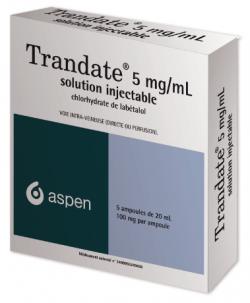 Trandate, tabletki 100 mg; tabletki 200 mg