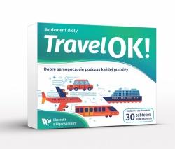 TRAVEL OK! TABLETKI NA CHOROBĘ LOKOMOCYJNĄ 30 TABLETEK POWLEKANYCH