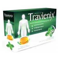 Travienix, pastylki do ssania, 24 szt