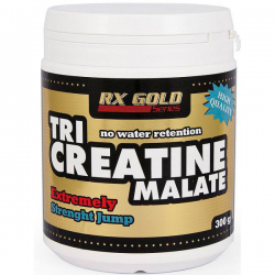 RX Gold - Tri Creatine Malate - 300 g