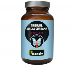 Tribulus, Maca & Guarana, 90 kapsułek