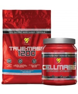BSN - True Mass 1200 - 4800g  + Cell Mass 2