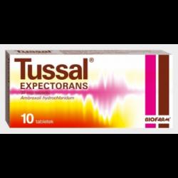 Tussal Expectorans, 30 mg, 10 tabletek