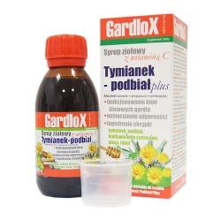 Tymianek i Podbiał plus, syrop ziołowy z witaminą C, 120 ml