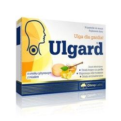 Olimp - ULGARD o smaku cytrynowym z miodem - 16pastylek
