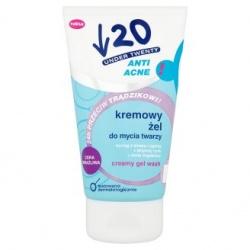 Under Twenty, żel, 150 ml do mycia twarzy