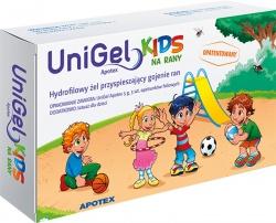 APOTEX  Unigel kids, żel na rany, 5g
