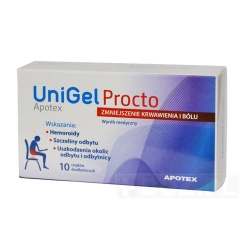 Unigel Procto - 10 sztuk