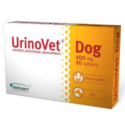 UrinoVet Dog, 400 mg, 30 tabletek